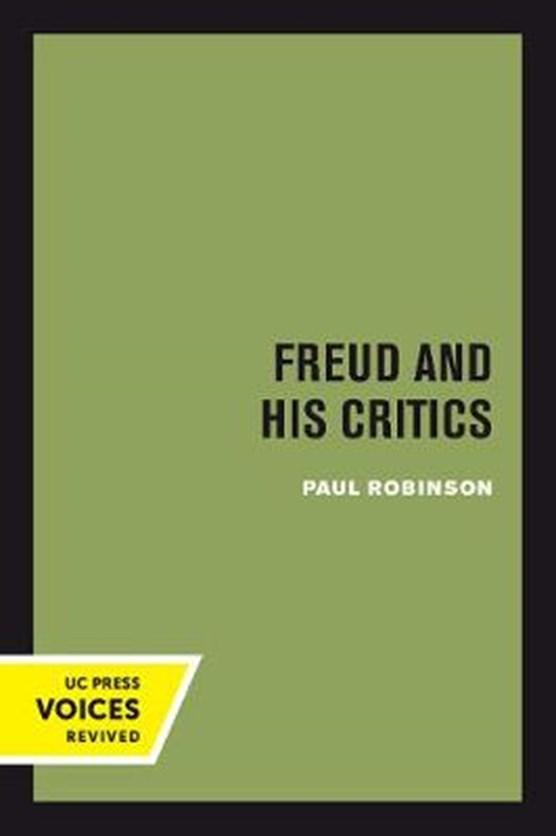 Freud and His Critics