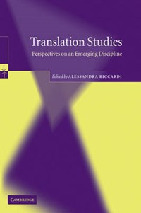 Translation Studies   Alessandra (universita degli Studi di Trieste) Riccardi  