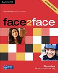 face2face Elementary Workbook without Key | Chris Redston |