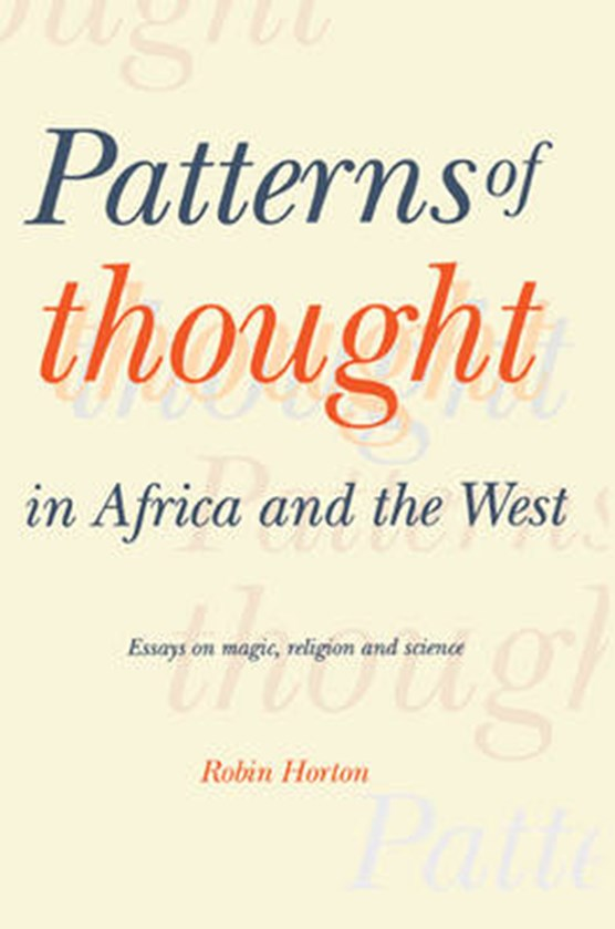 Patterns of Thought in Africa and the West