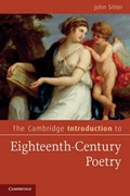 The Cambridge Introduction to Eighteenth-Century Poetry   John Sitter  
