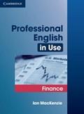Professional English in Use Finance   Ian MacKenzie  