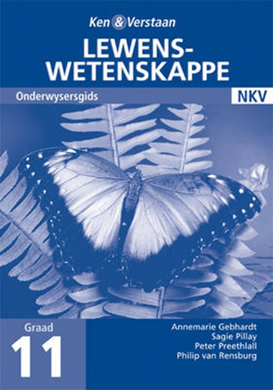 Study and Master Life Sciences Grade 11 Teacher's Book Afrikaans Translation
