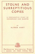 Stolne and Surreptitious Copies   Alfred Hart  