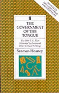 Government of the Tongue   Seamus Heaney  