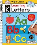 Learning Letters (Pre-K Wipe Clean Workbook): Preschool Wipe Clean Activity Workbook, Ages 3-5, Letter Tracing, Uppercase and Lowercase, First Words, | The Reading House |
