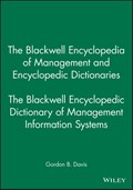 The Blackwell Encyclopedic Dictionary of Management Information Systems | Gordon B. Davis |