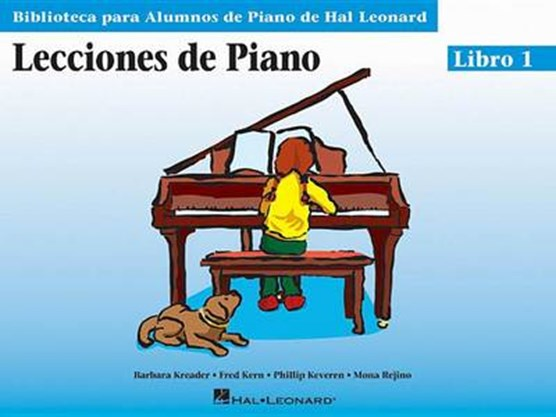 Piano Lessons Book 1 - Spanish Edition