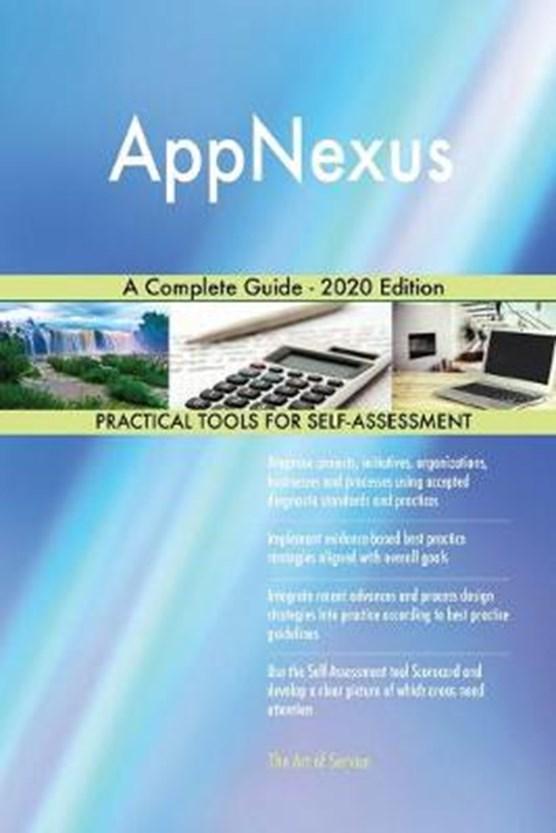AppNexus A Complete Guide - 2020 Edition