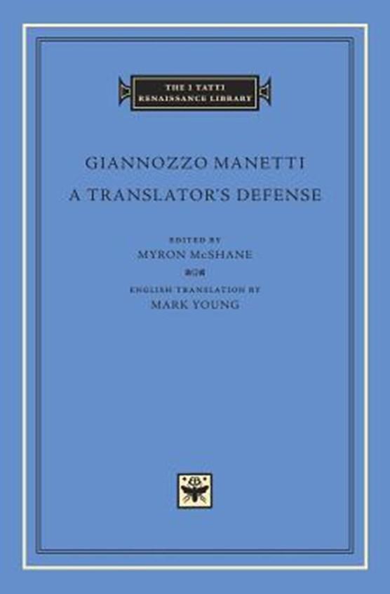 A Translator's Defense