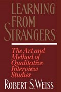 Learning from Strangers | Robert S. Weiss |
