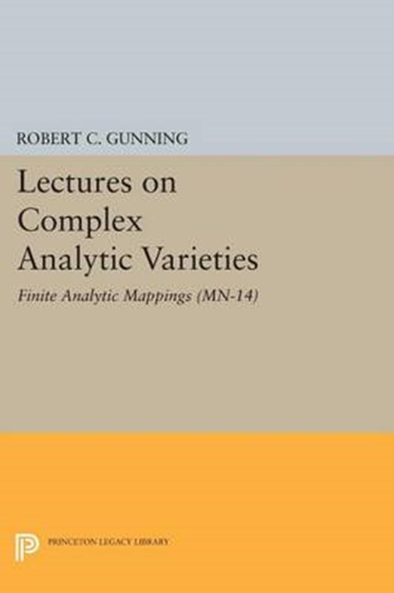 Lectures on Complex Analytic Varieties (MN-14), Volume 14