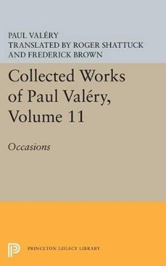 Collected Works of Paul Valery, Volume 11