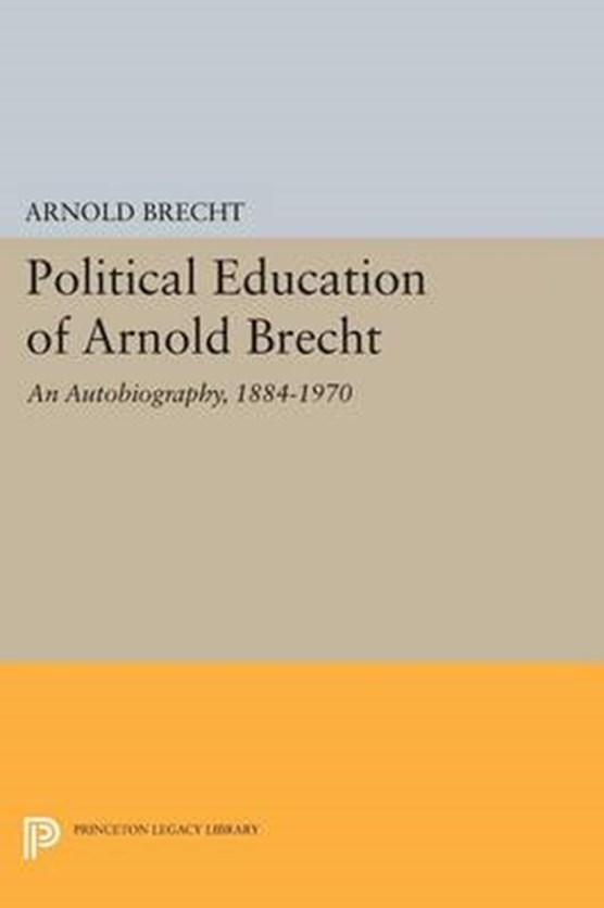Political Education of Arnold Brecht