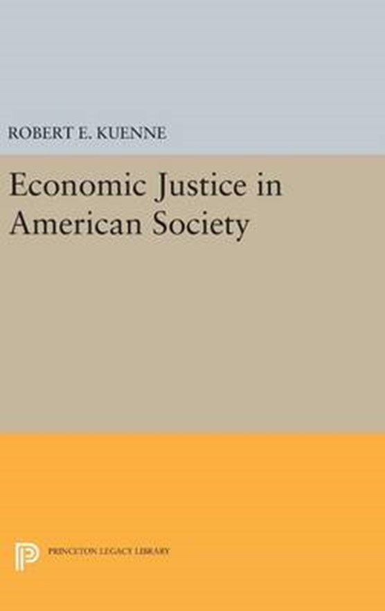 Economic Justice in American Society
