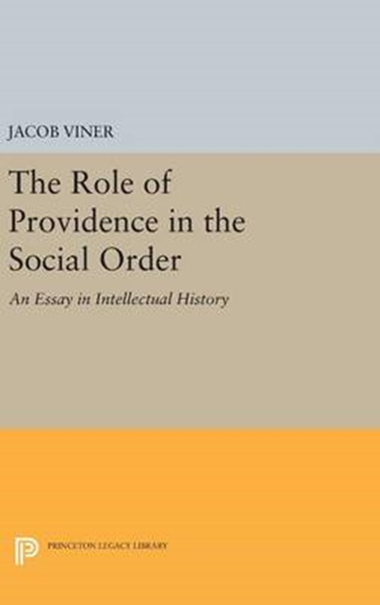 The Role of Providence in the Social Order