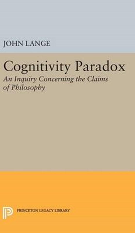 Cognitivity Paradox