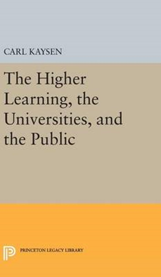 The Higher Learning, the Universities, and the Public