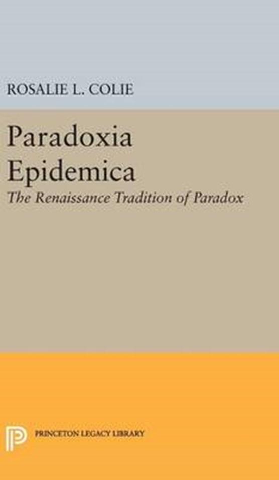 Paradoxia Epidemica