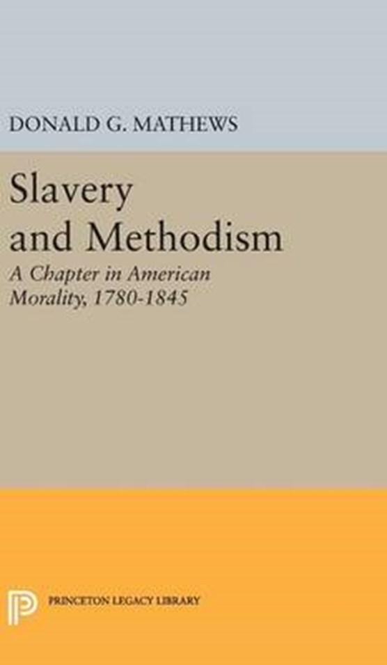 Slavery and Methodism