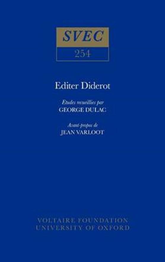 Editer Diderot