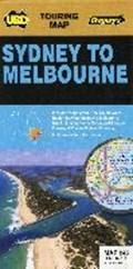 Sydney to Melbourne 1 : 1 175 000   auteur onbekend  