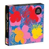 Andy warhol flowers 500 piece puzzle   auteur onbekend   9780735357839