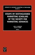 Essays by Distinguished Marketing Scholars of the Society for Marketing Advances   Usa) Moore Arch G. Woodside ; E. (university Of South Carolina  