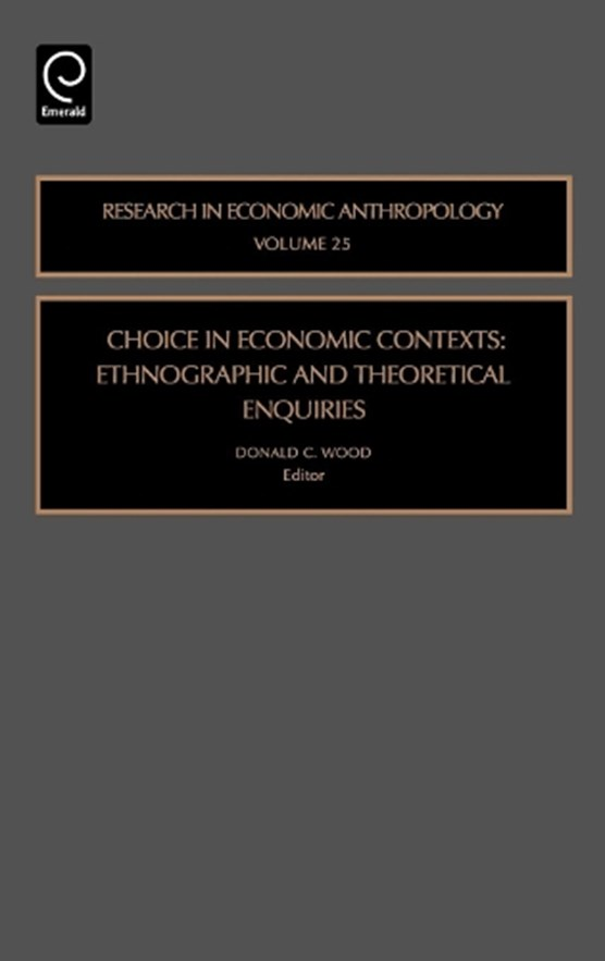 Choice in Economic Contexts