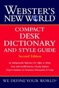 Webster's New World Compact Desk Dictionary and Style Guide | Michael E. Agnes |