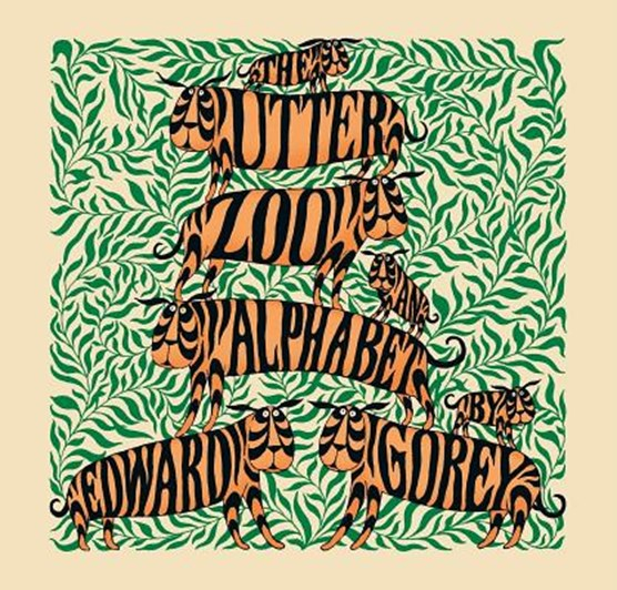 The Utter Zoo an Alphabet by Edward Gorey