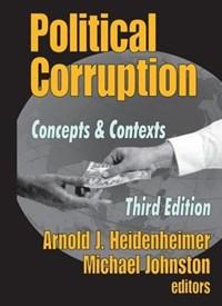 Political Corruption | Arnold J. Heidenheimer |