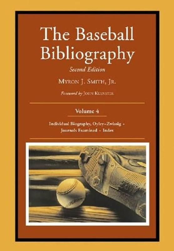 The Baseball Bibliography v. 4