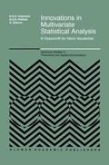 Innovations in Multivariate Statistical Analysis   Risto D.H. Heijmans ; D.S.G. Pollock ; Albert Satorra  
