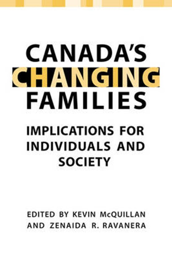 Canada's Changing Families