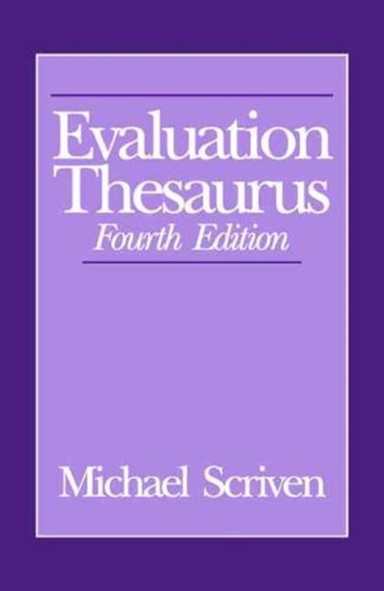 Evaluation Thesaurus