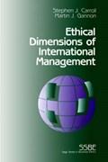 Ethical Dimensions of International Management | Carroll, Stephen J. ; Gannon, Martin J. |