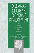 Dilemmas of Urban Economic Development   Bingham, Richard D. ; Mier, Robert  