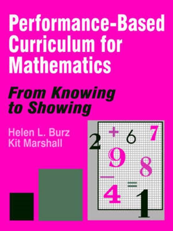 Performance-Based Curriculum for Mathematics