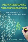 Organizational Transformation   Bruce J. Avolio  