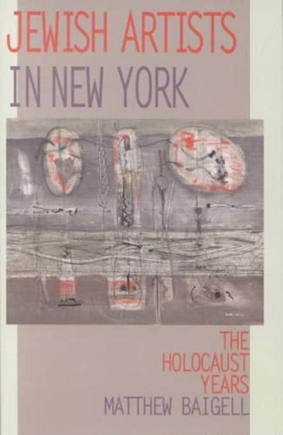 Jewish Artists in New York