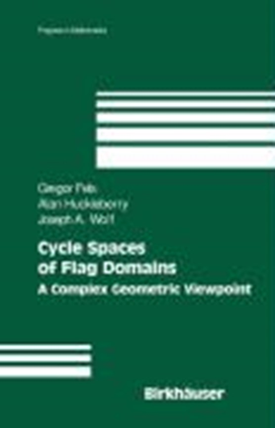 Cycle Spaces of Flag Domains