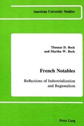French Notables   Thomas D. and Martha W Beck  