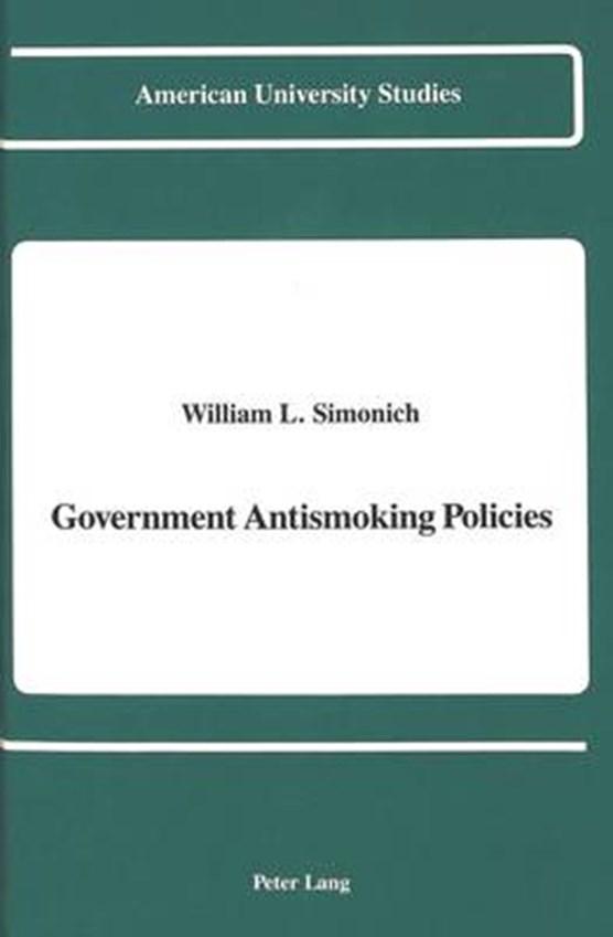 Government Antismoking Policies