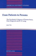 From Patients to Persons   Janet Vice  