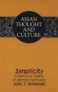 Simplicity   John T Brinkman  