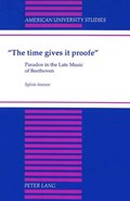 The Time Gives it Proofe   Sylvia Imeson  