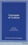 Concepts of Culture | Hans Adler ; Jost Hermand |