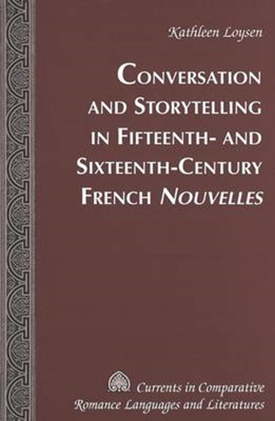 Conversations and Storytelling in 15th-16th-century French Nouvelles