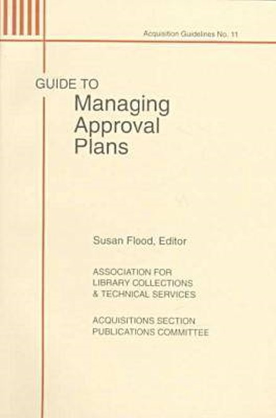 Guide to Managing Approval Plans